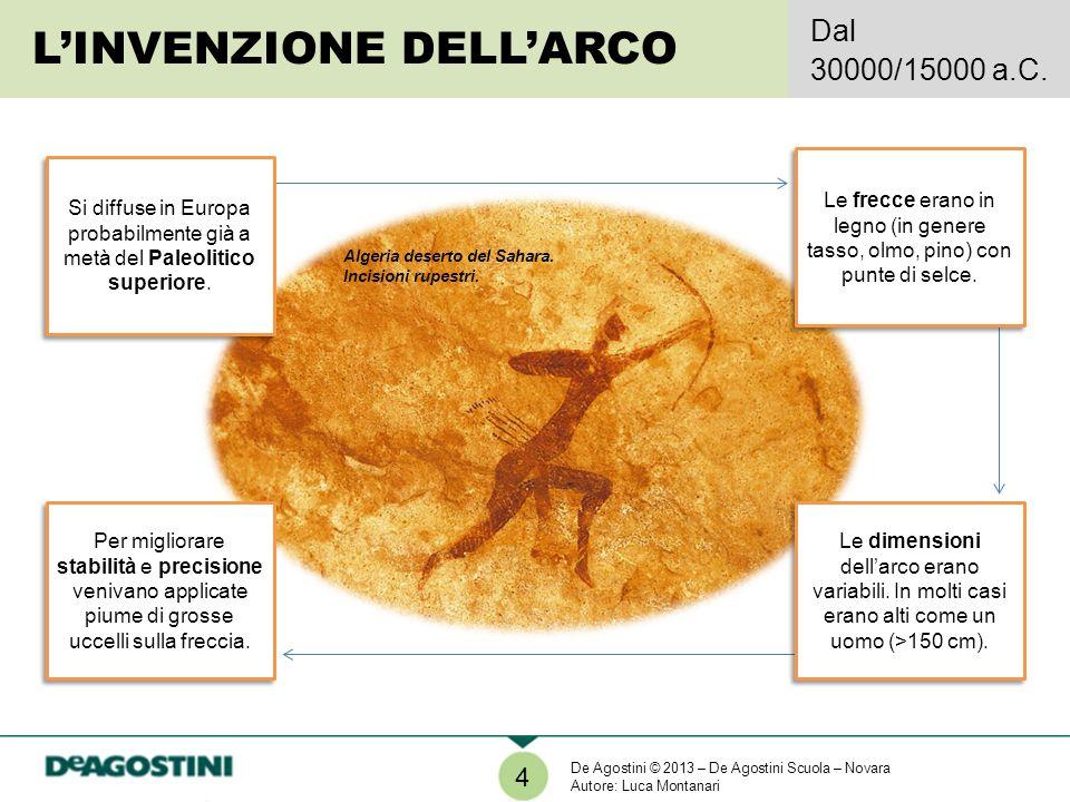 LINVENZIONE DELLARCO Dal 30000/15000 a.C.4 Algeria deserto del Sahara.