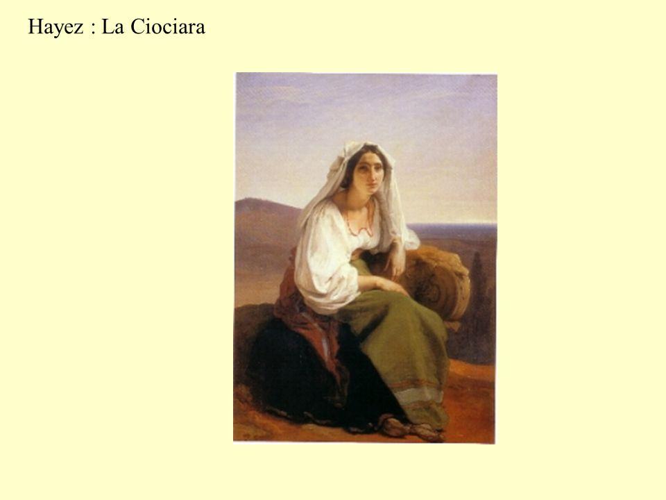 Hayez : La Ciociara