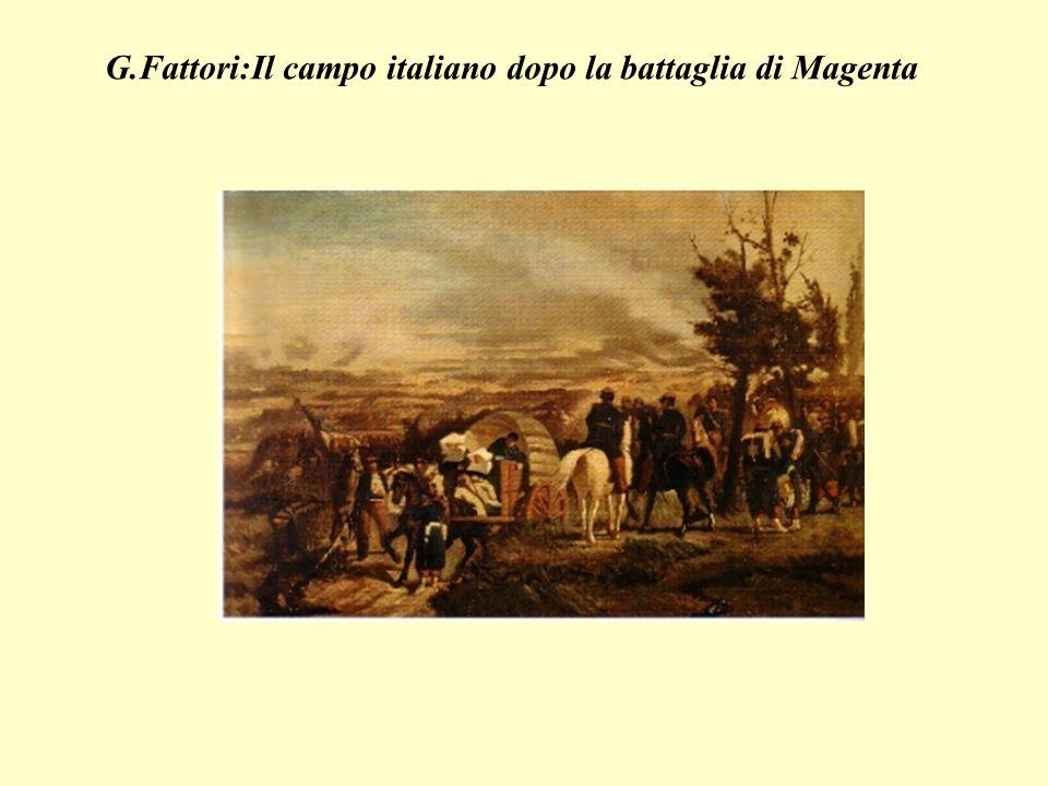 G.Fattori:Il campo italiano dopo la battaglia di Magenta