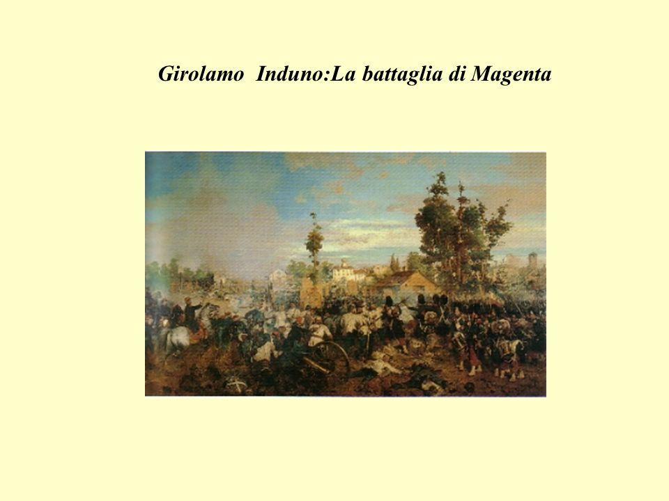 Girolamo Induno:La battaglia di Magenta