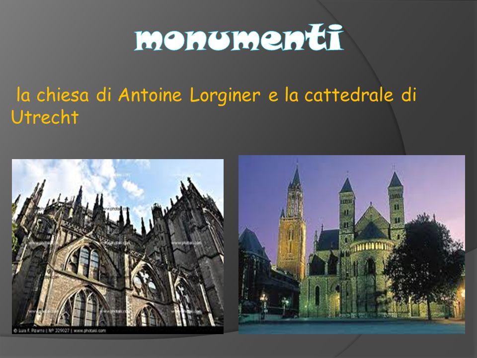 la chiesa di Antoine Lorginer e la cattedrale di Utrecht