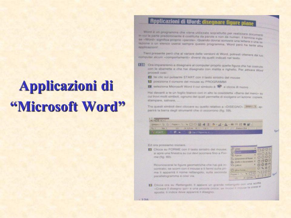 Applicazioni di Microsoft Word Microsoft Word