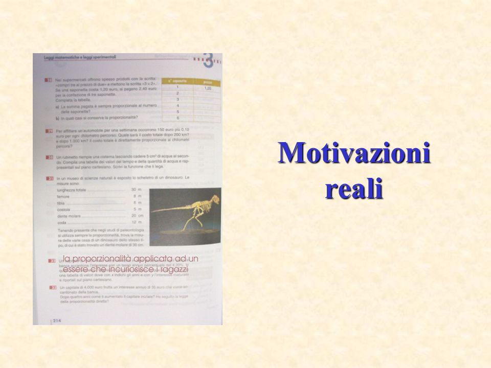 Motivazioni reali