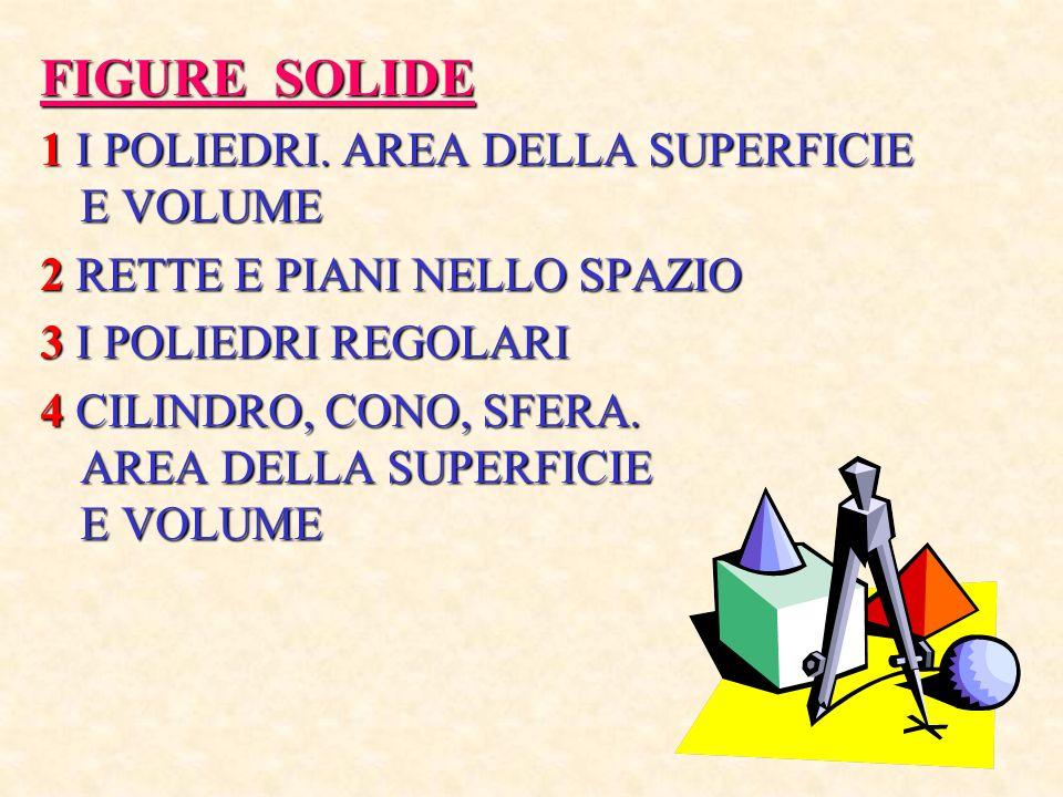 FIGURE SOLIDE 1 I POLIEDRI.