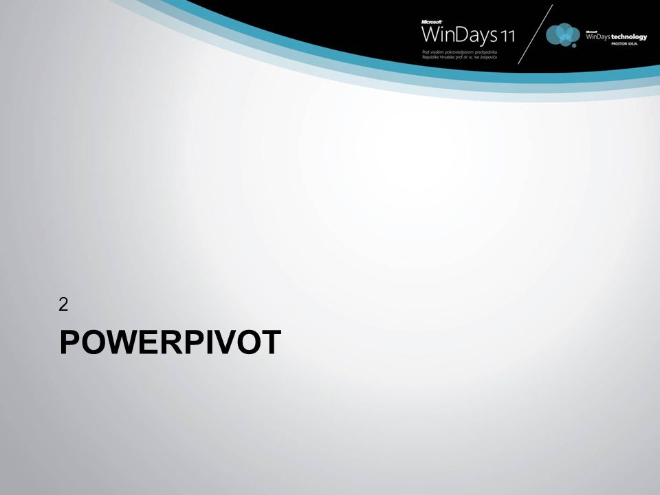 POWERPIVOT 2