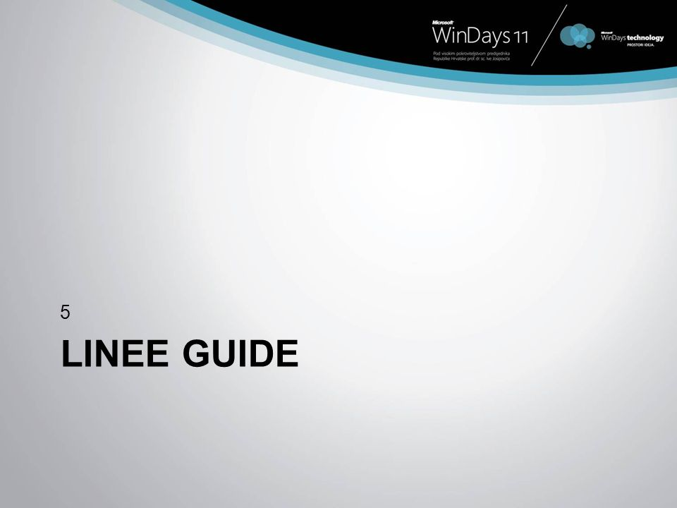 LINEE GUIDE 5