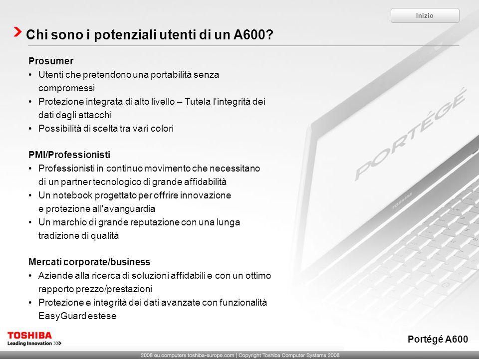 Chi sono i potenziali utenti di un A600.