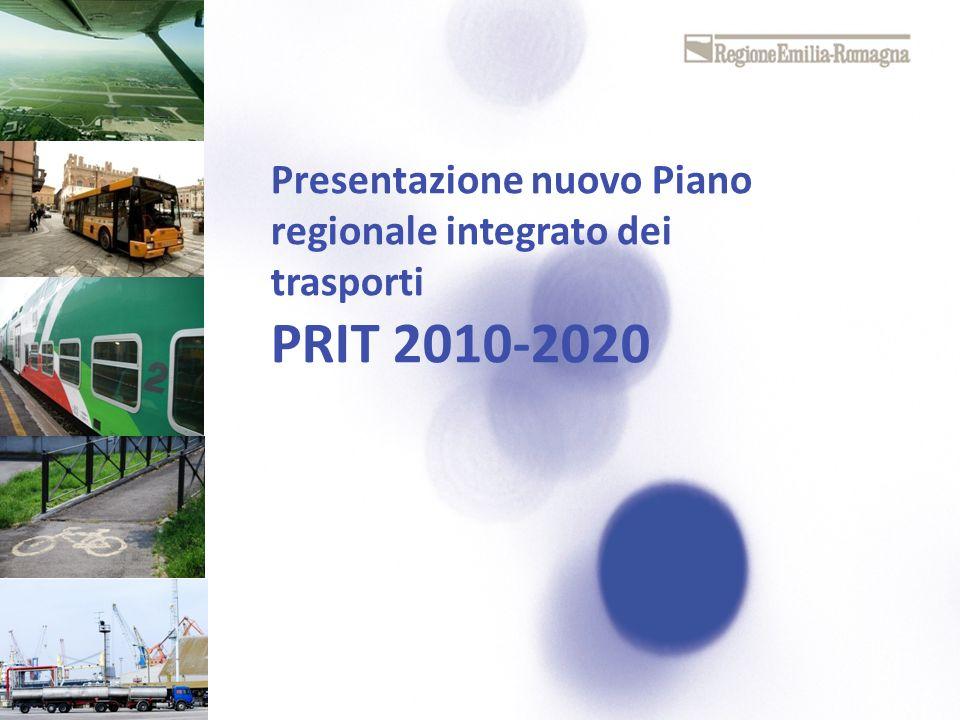 Presentazione nuovo Piano regionale integrato dei trasporti PRIT 2010-2020