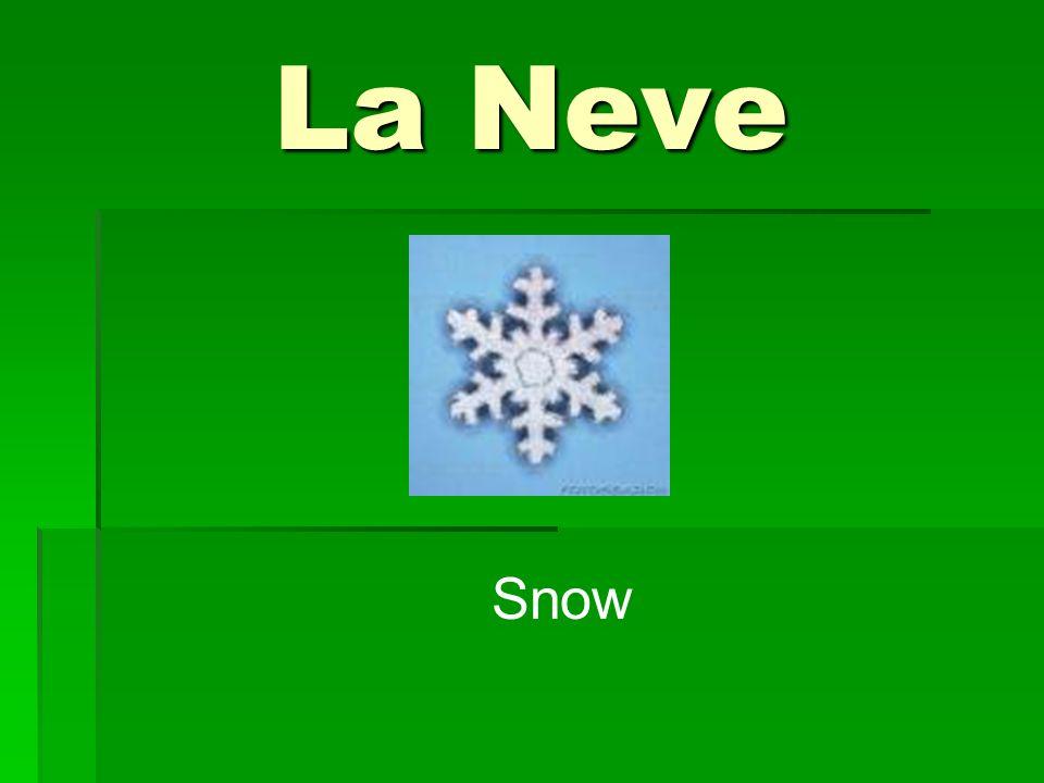 La Neve Snow