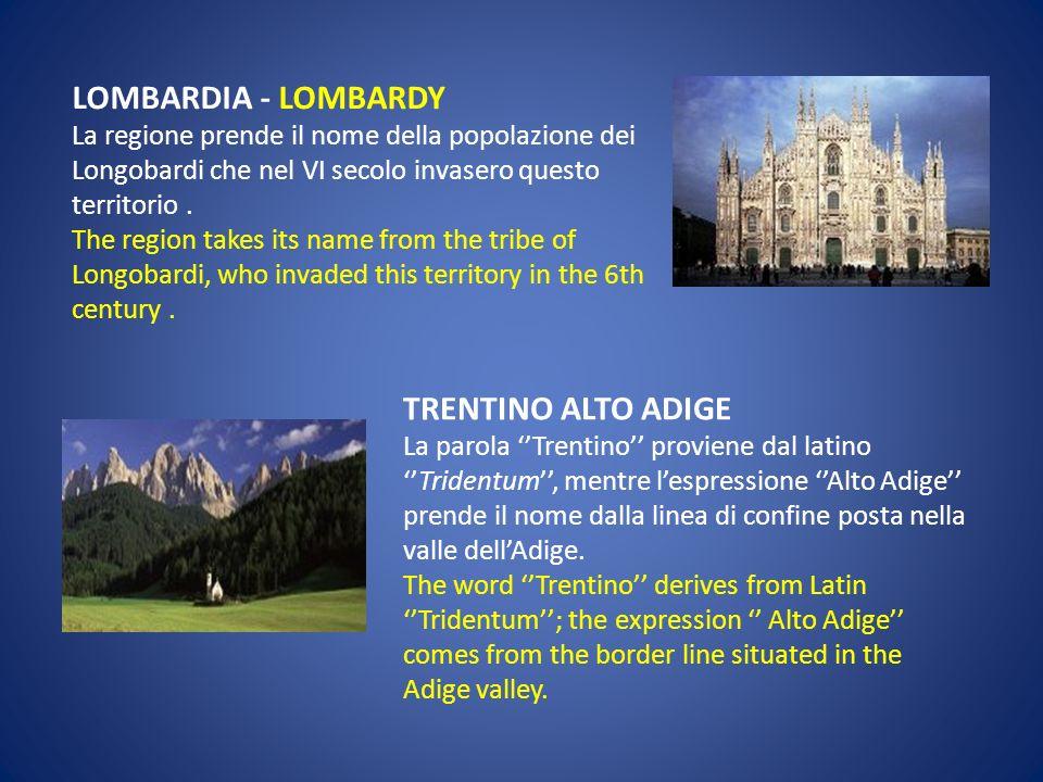 VALLE DAOSTA- AOSTA VALLEY Aosta proviene dal nome della città Augusta Praetoria, fondata dallimperatore romano Augusto. The name «Aosta» derives from