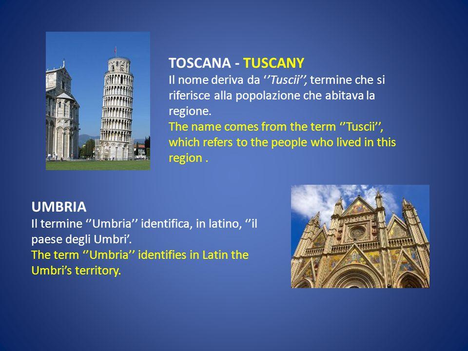 LIGURIA Il nome deriva dal termine della popolazione preindoeuropea dei Liguri. The names derives from a preindoeuropean people: the Liguri. EMILIA RO