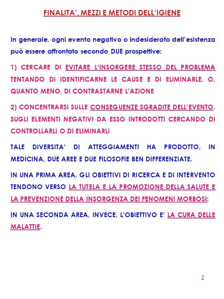73 Secondo alcune stime recenti, vi sarebbero state in Italia nel 1998 circa 80 mila morti evitabili per il 57,7% mediante la prevenzione primaria, per il 9,9% attraverso diagnosi precoci e per la restante parte con una migliore assistenza sanitaria