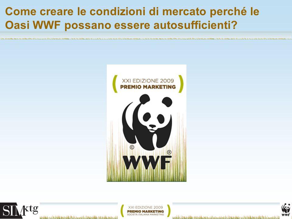 Come creare le condizioni di mercato perché le Oasi WWF possano essere autosufficienti?