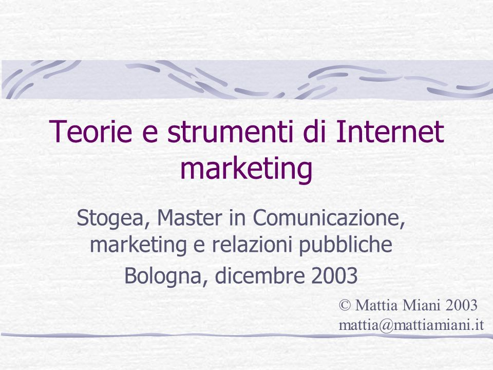Media mix Online TV Stampa …. Awareness Call to action Direct mail Elevata Copertura One to One