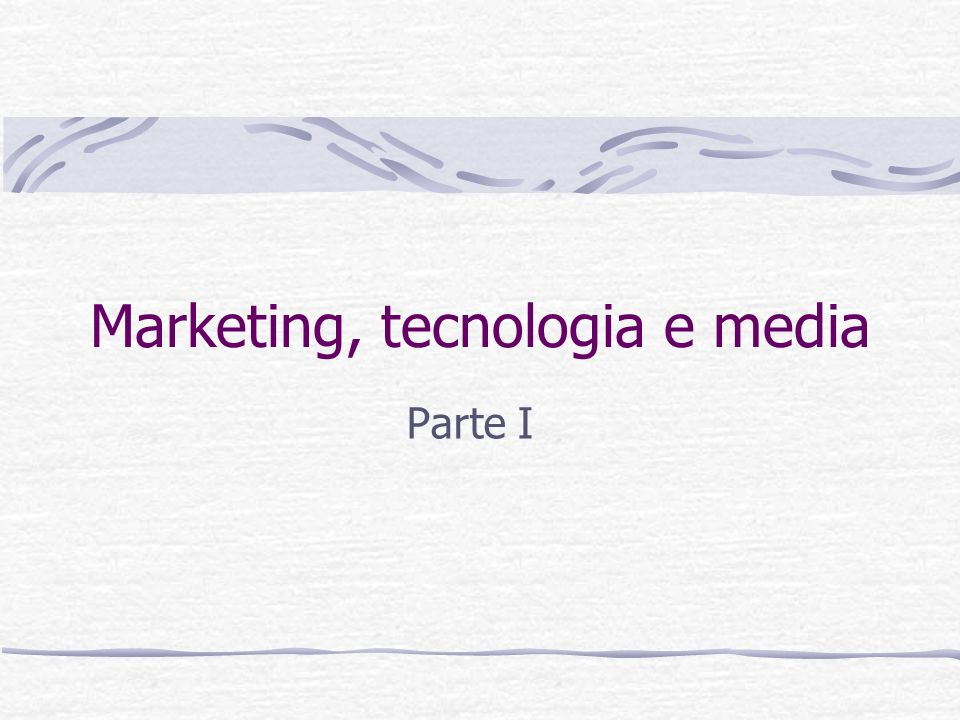 Il marketing e i media Il marketing è sempre stato influenzato dai mezzi di comunicazione e a sua volta ne ha profondamente influenzata levoluzione Es: la radio ha permesso lo sviluppo di campagne di marketing nazionali, e le aziende hanno influenzato i contenuti del mezzo.