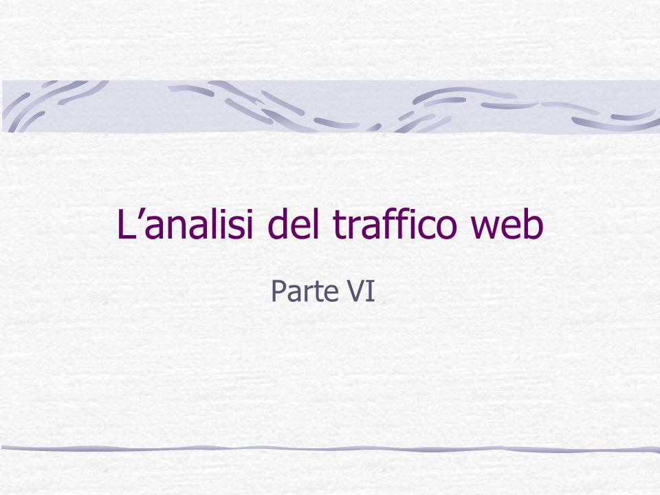 Lanalisi del traffico web Parte VI