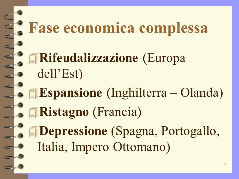 7 Colonialismo 4 Imperi coloniali parte integrante del sistema economico europeo: economia mondo 4 Espansione tratta degli schiavi 4 Atlantizzazione 4 Controllo del Mediterraneo