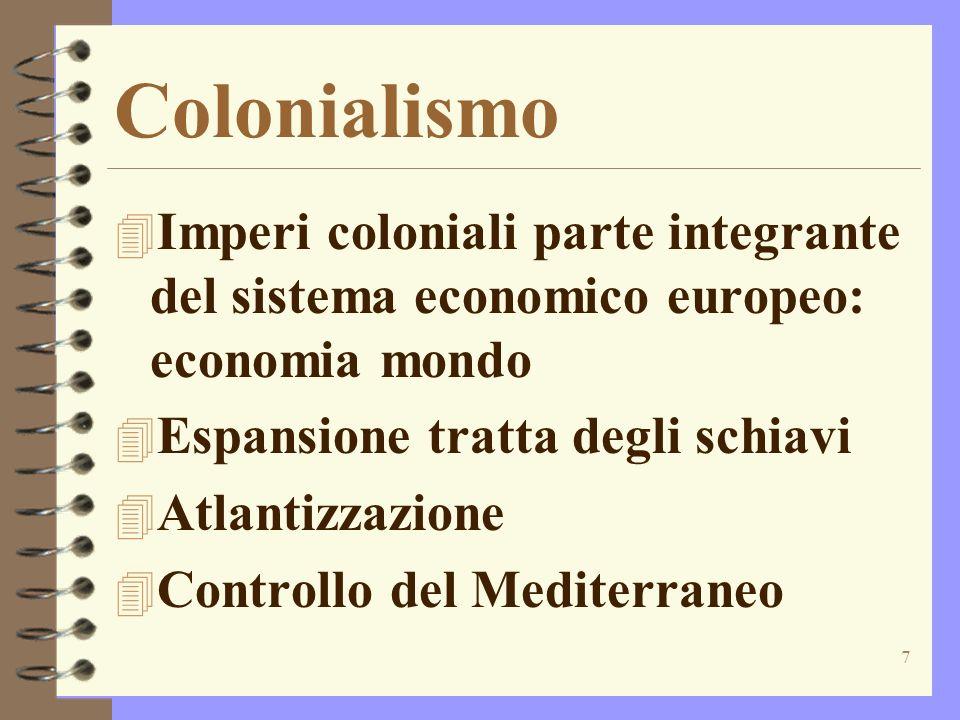 8 Sostituzioni 4 Olanda al posto dellItalia nella produzione manifatturiera 4 Olandesi al posto dei portoghesi nel commercio con lIndia 4 Olandesi e inglesi al posto di Venezia nel Mediterraneo 4 I mercati rimanevano comunque stazionari