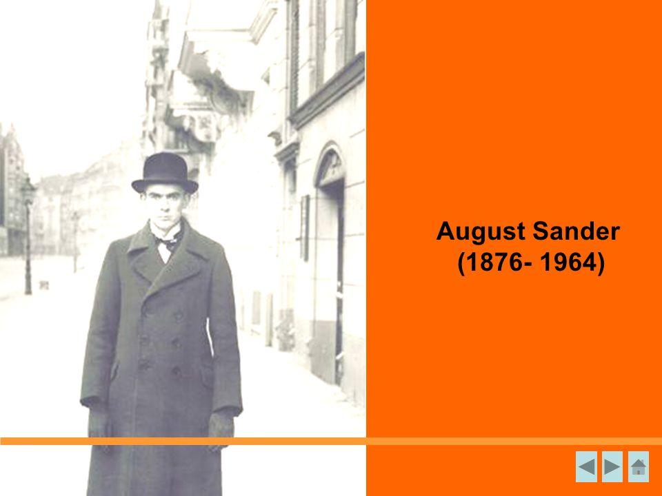 August Sander (1876- 1964)