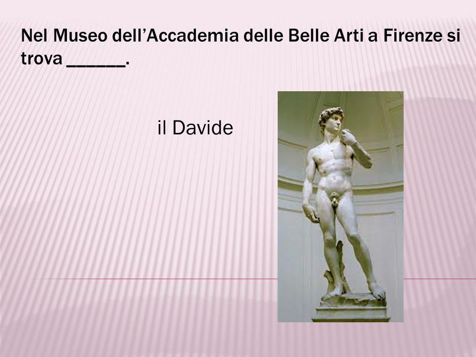 La Creazione è un capolavoro di _____. Michelangelo Buonarroti