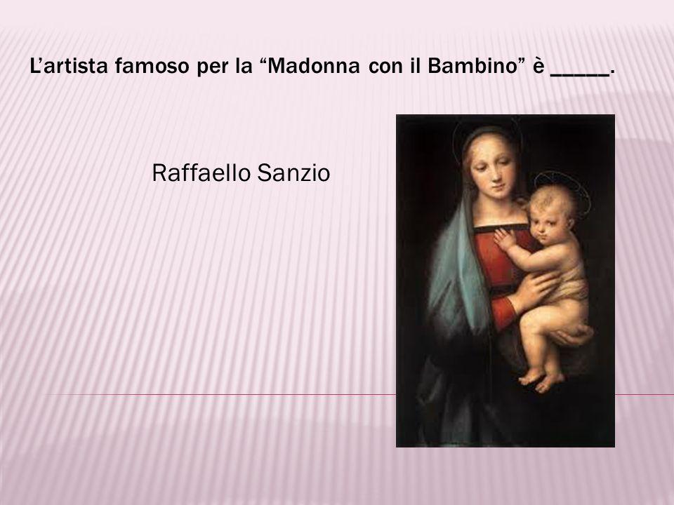 Lo scultore delle statue di il Davide e la Pietà è _____. Michelangelo Buonarroti