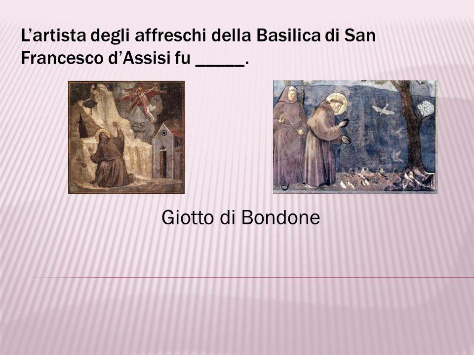 Lartista famoso per la Madonna con il Bambino è _____. Raffaello Sanzio