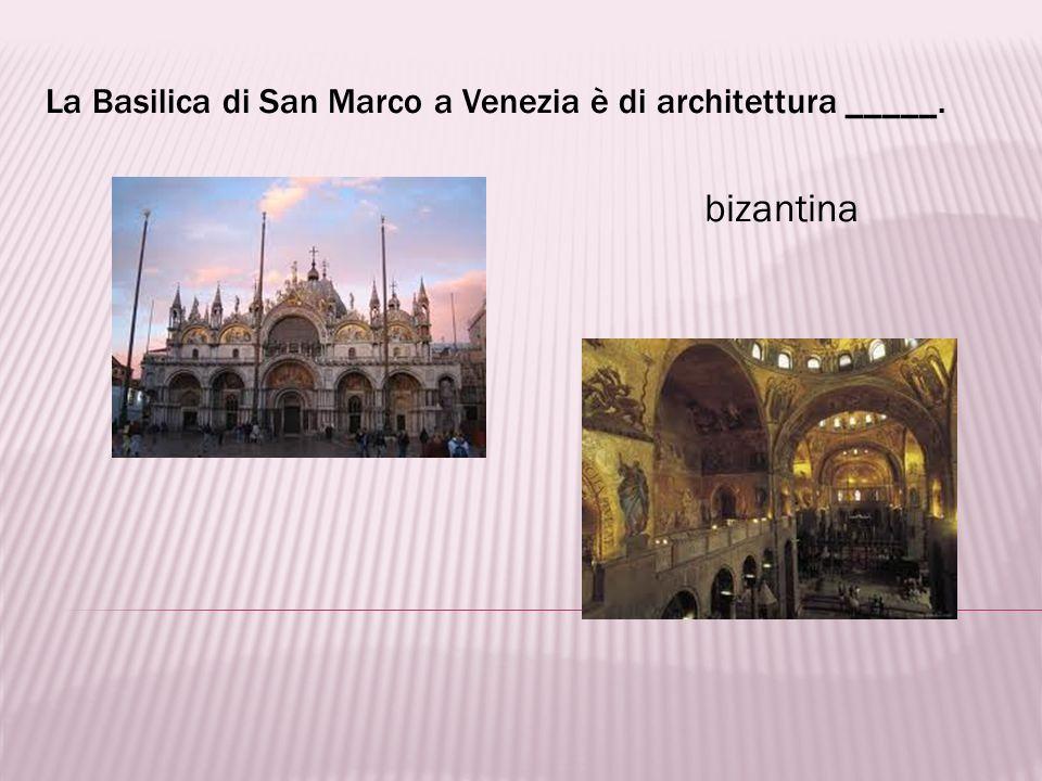 Il Duomo di Milano è un esempio di architettura dello stile _____. gotico