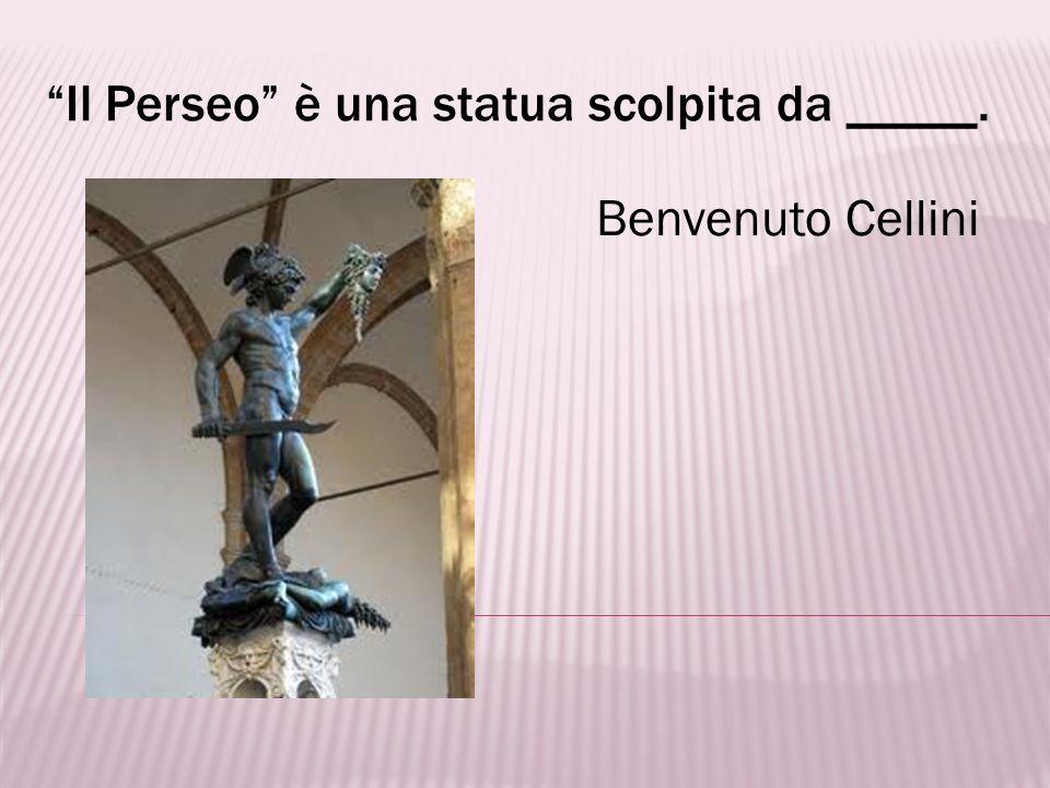 Lo scultore delle Porte del Paradiso fu _____. Lorenzo Ghiberti