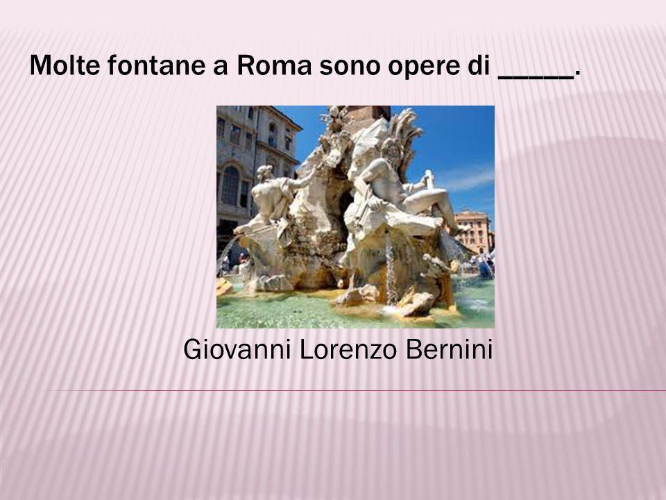 Il Perseo è una statua scolpita da _____. Benvenuto Cellini