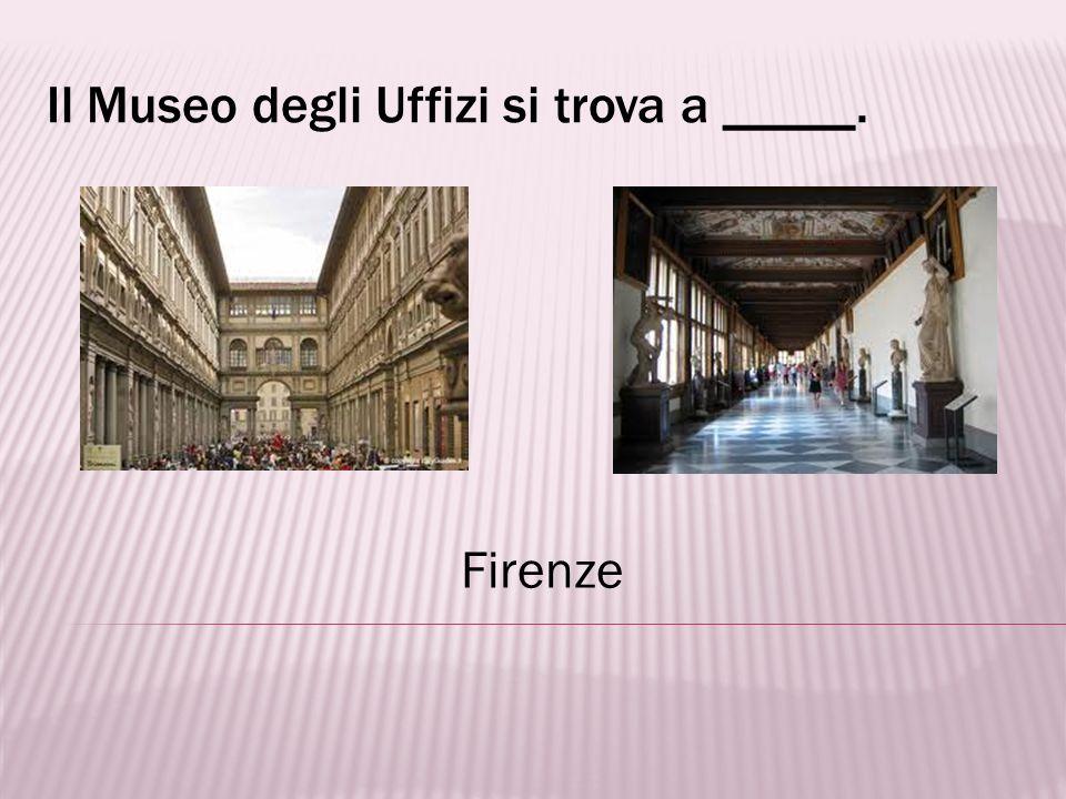La Culla delle Arti si riferisce alla città di ___. Firenze