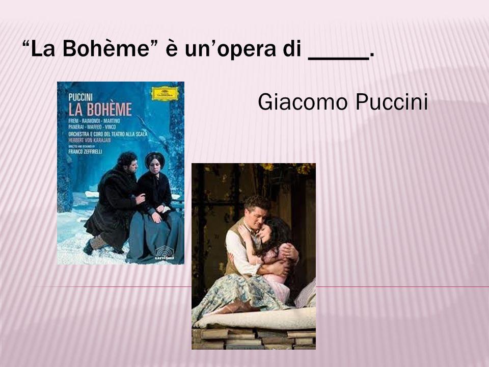 Aida, Traviata e Tosca sono nomi di ________. opere
