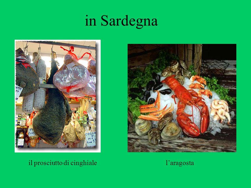 in Sardegna il prosciutto di cinghiale laragosta