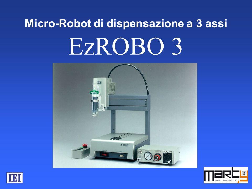 Micro-Robot di dispensazione a 3 assi EzROBO 3
