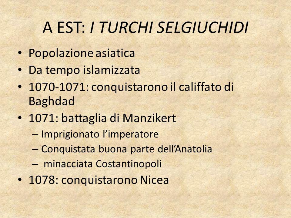 LO SCISMA CON LA CHIESA DI ROMA 1054: Il papa Leone IX chiese al patriarca di Bisanzio di riconoscere la supremazia della sua autorità Michele Cerulario, vescovo di Bisanzio, si rifiutò Leone IX e Michele Cerulario si scomunicarono a vicenda SCISMA SCISMA