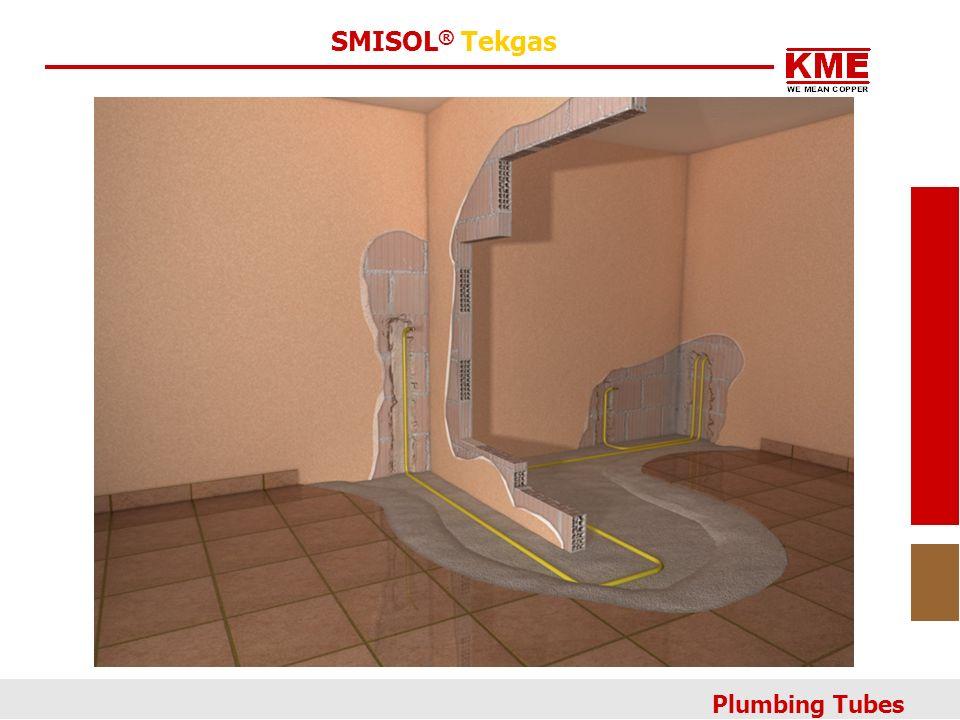 SMISOL ® Tekgas Plumbing Tubes