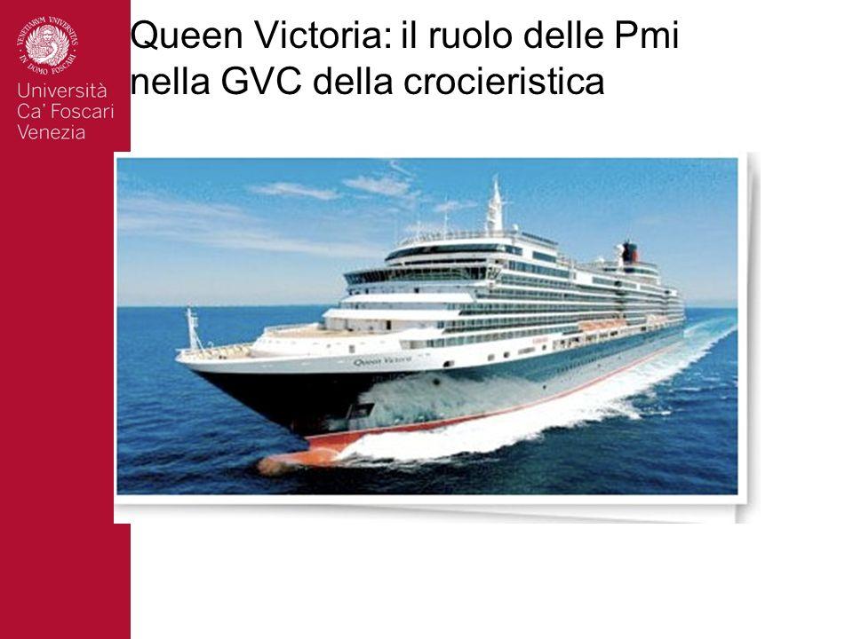 Queen Victoria: il ruolo delle Pmi nella GVC della crocieristica