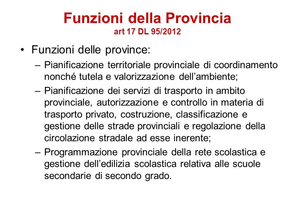 Le province del Veneto In base ai criteri definiti dal Governo, le province del Veneto che non presentano i requisiti demografici e territoriali previ