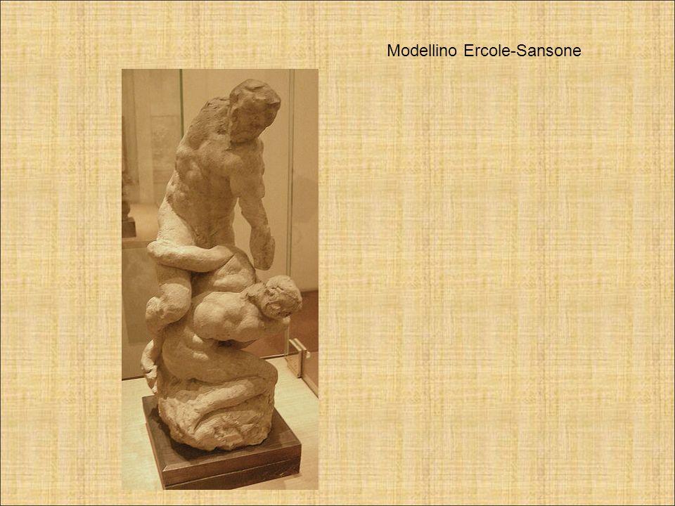 Modellino Ercole-Sansone
