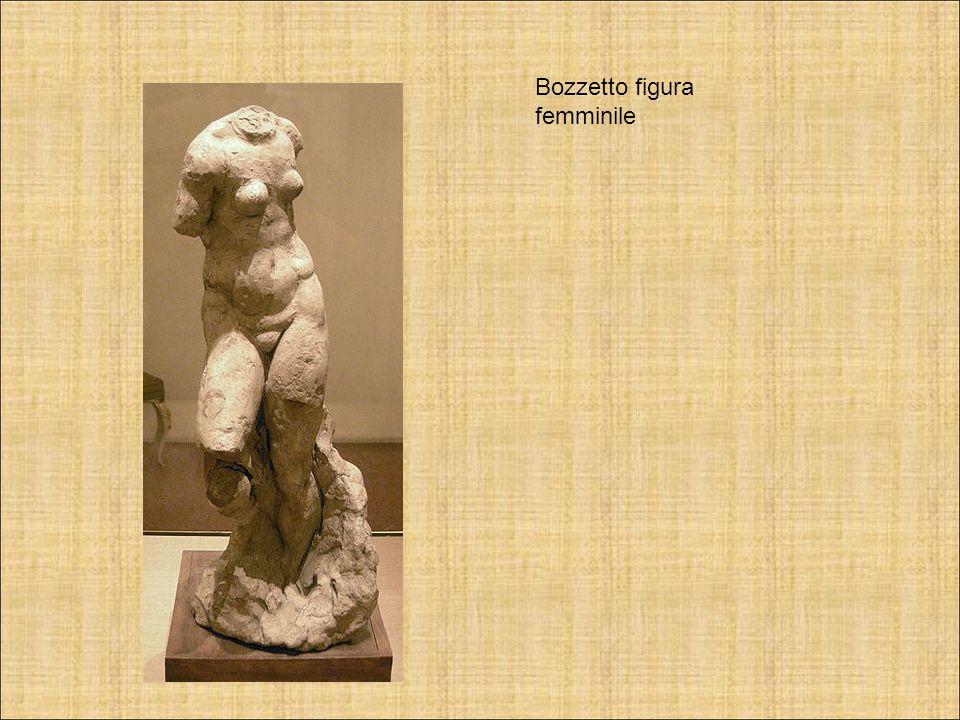 Bozzetto figura femminile