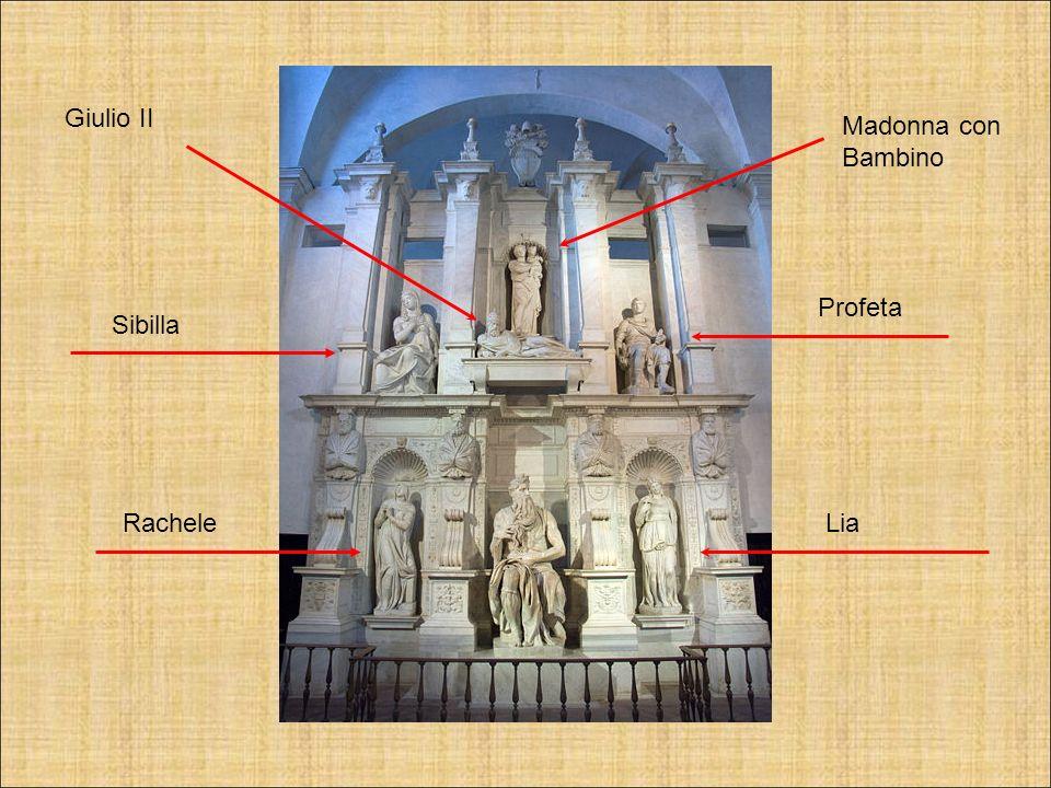 LiaRachele Sibilla Profeta Madonna con Bambino Giulio II