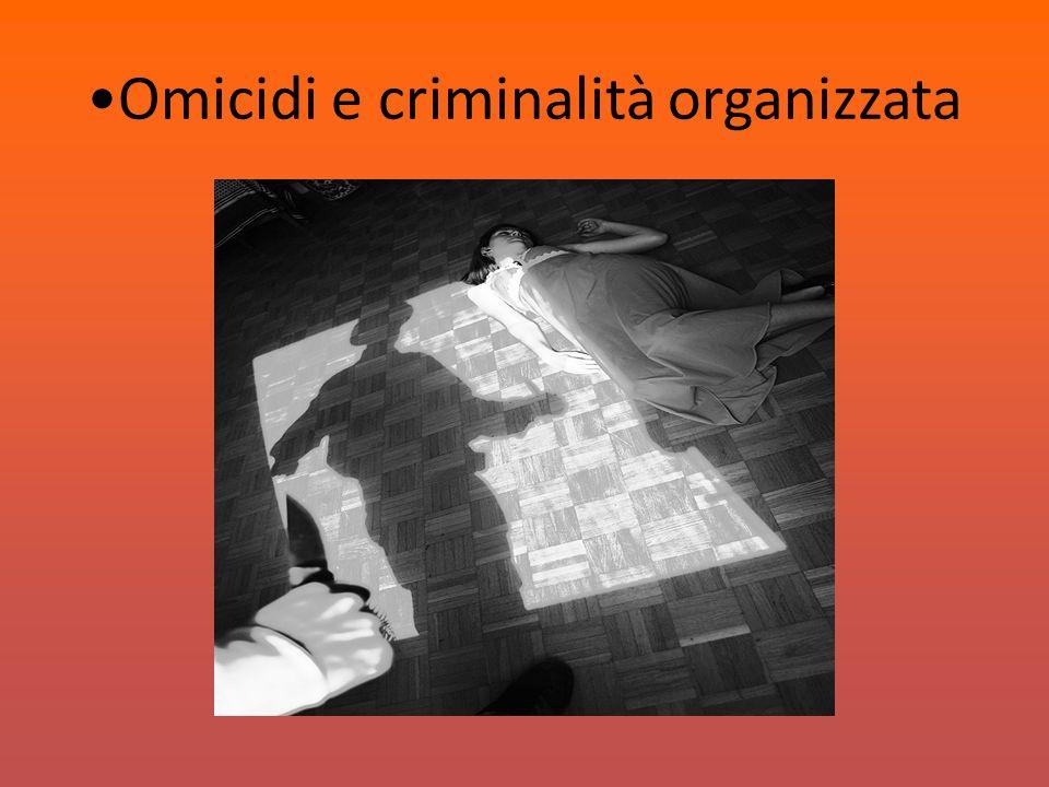 Omicidi e criminalità organizzata