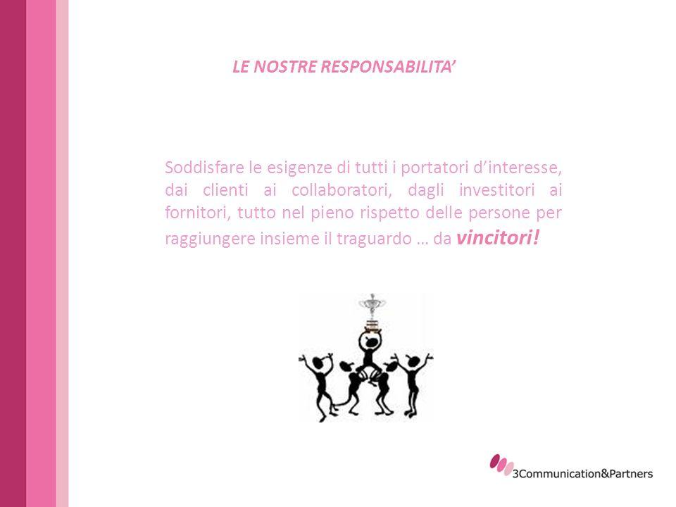 3Communication&Partners tel.+39 06 4469884 Via Flaminia Vecchia, 657fax.