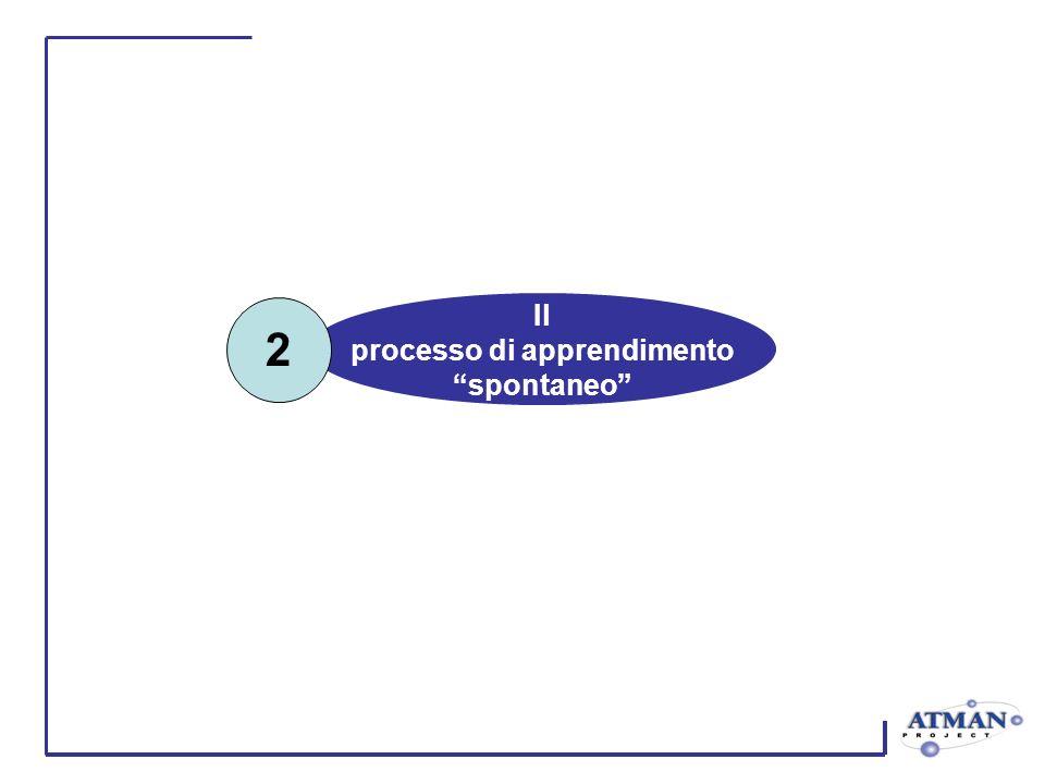 Il processo di apprendimento spontaneo 2