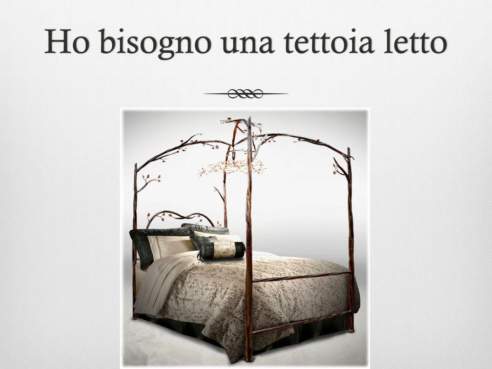 Ho bisogno una tettoia lettoHo bisogno una tettoia letto