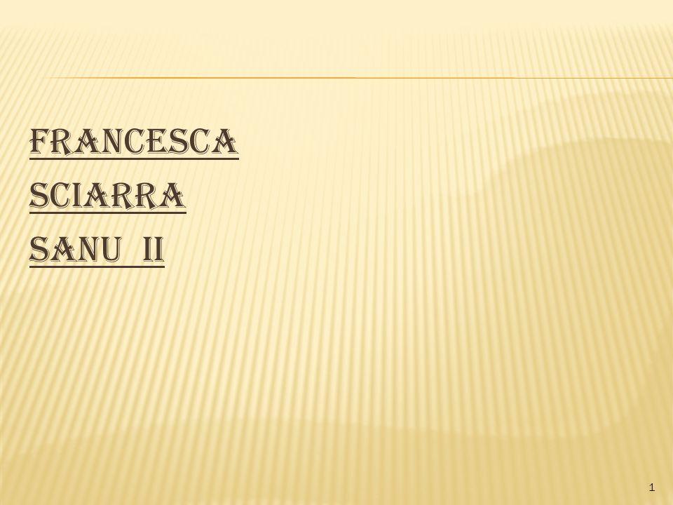 Francesca Sciarra Sanu II 1