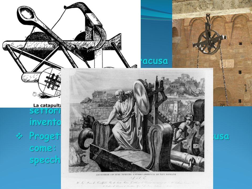 Una delle sue opere più famose è: Sulla misurazione del cerchio, nella quale viene calcolato un valore approssimato del P greco.