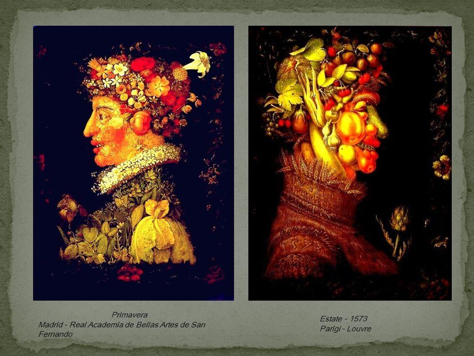Estate - 1573 Parigi - Louvre Primavera Madrid - Real Academia de Bellas Artes de San Fernando