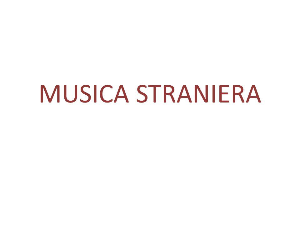 MUSICA STRANIERA