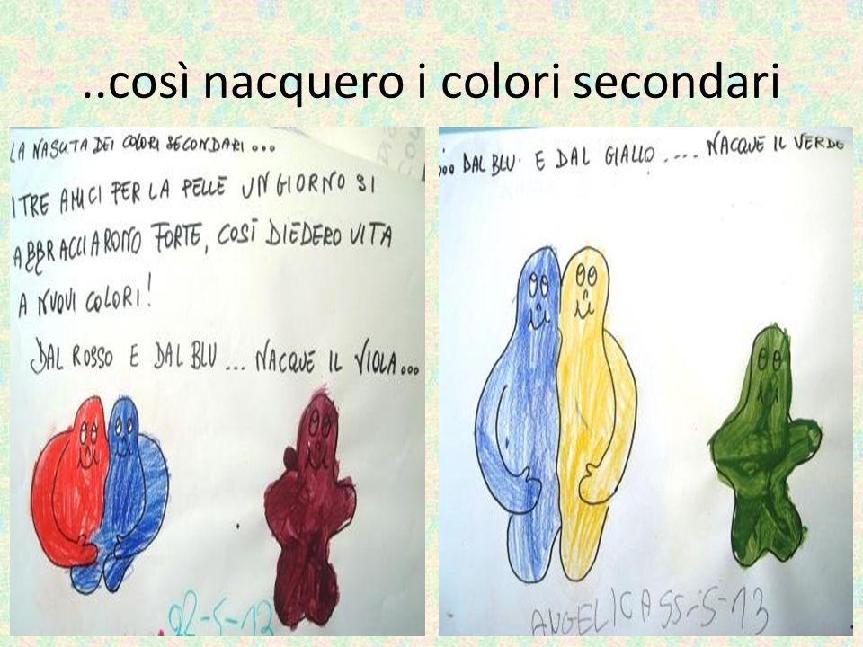 ..così nacquero i colori secondari