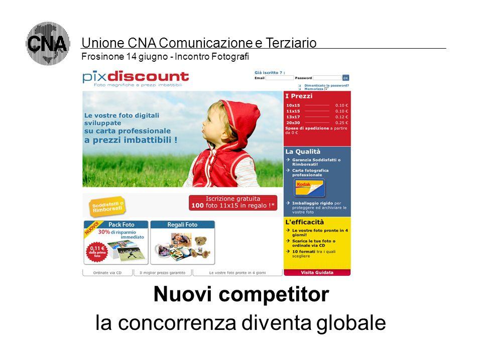 Unione CNA Comunicazione e Terziario Frosinone 14 giugno - Incontro Fotografi Nuovi competitor i portali: nuovi canali di vendita
